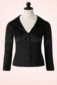 50s Beautiful People Shirt in Black