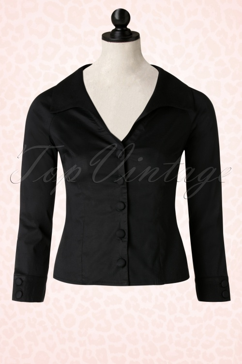 Banned Beautiful Blouse in Black 112 10 17893 20160118 0009pop