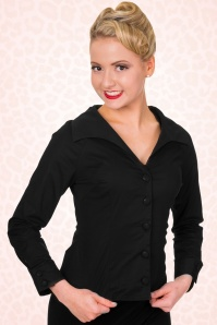 Banned Beautiful Blouse in Black 112 10 17893 1