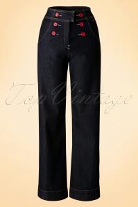 Mademoiselle yeye Farrah Trousers  131 30 17929 20160119 0008W