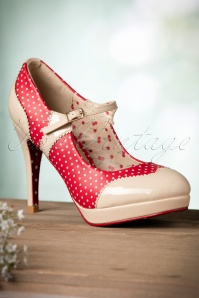 Banned Mary Jane Pump Red Nude 402 27 17747 01192016 022W