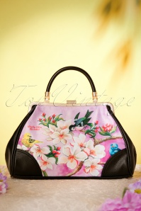 50s Bloom Retro Handbag