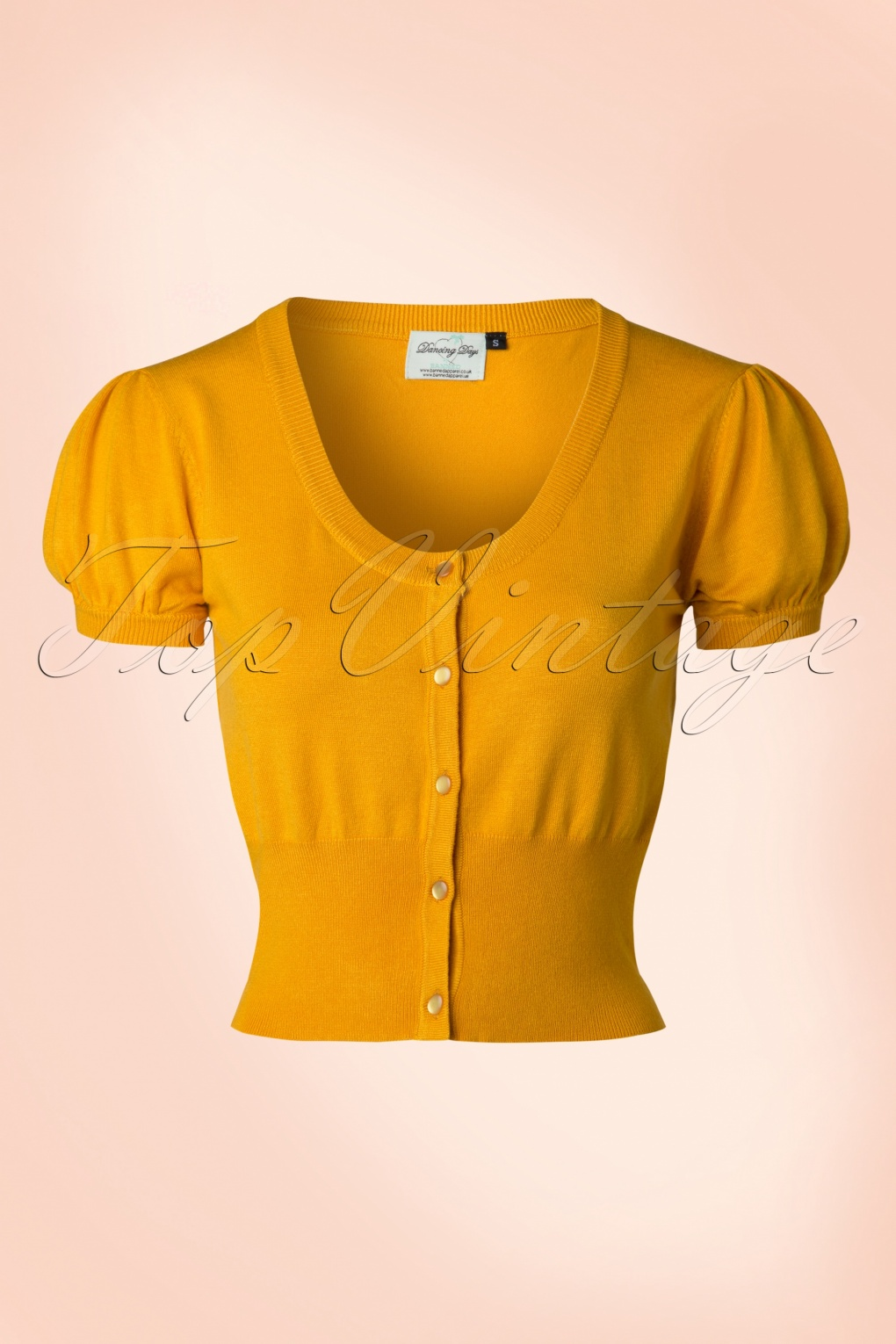 1940s Sweater Styles 40s Grace Cardigan in Yellow £30.69 AT vintagedancer.com