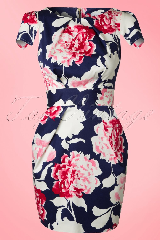 Coupon Code For Closet Navy Floral Dress Ee29d 6cf98