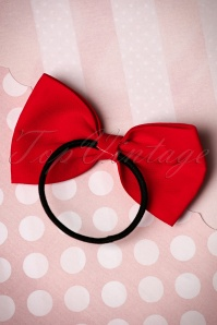Dancing Days by Banned Bow Hair Band in Red 208 20 17890 01252016 003 2W