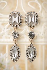 20s Classy Crystal Earrings