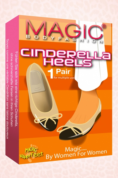 Magic Bodyfashion Cinderella Heals 490 98 18161 02
