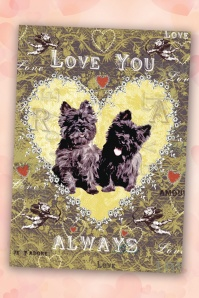 50s Love You Always Greeting Card