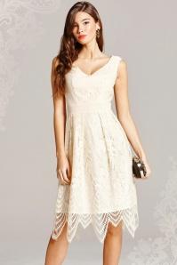 Little Mistress Cream Lace Dress 102 51 18155 20160127 0005