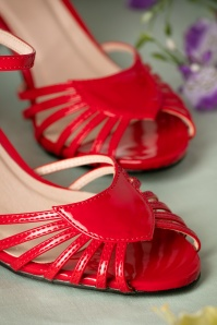 Dancing Days by Banned Amelia Sandals in Red 420 20 17758 01272016 034
