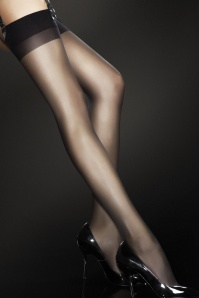 Justine Stockings en Noir