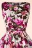 Cream Floral Swing Dress Hearts & Roses 102 57 17132 20160203 004V