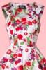 White Floral Swing Dress Hearts & Roses 102 59 17131 20151021 006V