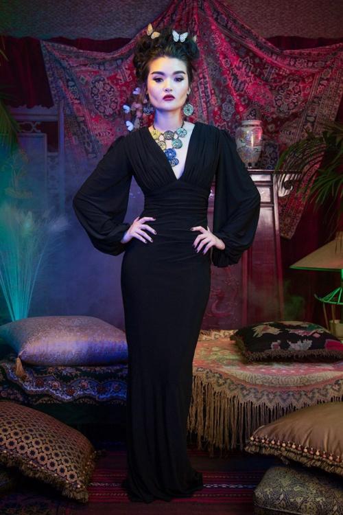 California Gia Dress Black Pinup Couture 108 10 17829 20160203 012