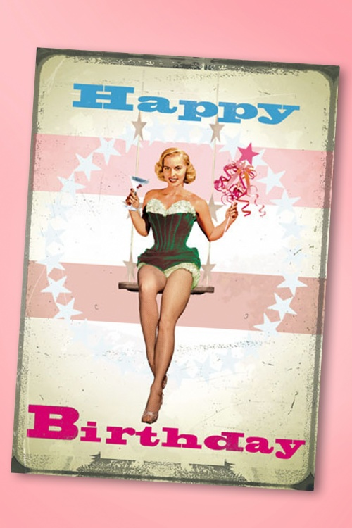 50s cocktail girl happy birthday greeting card betty knows best greeting cards 532 22 18095 bookmarktalkfo Images