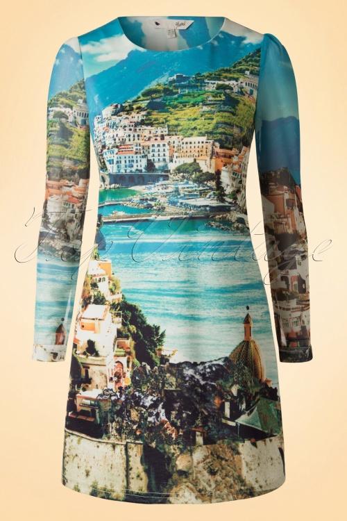 Yumi TopVintage Exclusive Blue Holiday Dress 106 39 17167 20160205 0007W
