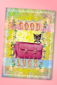 Good Luck Greeting Card Années 50