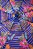 So Rainy Blue Floral Umbrella 270 39 18189 02042016 009