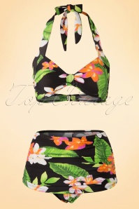 Esther Williams Classic Floral Bikini Top 16937 Pants 17470 20151106 0005W