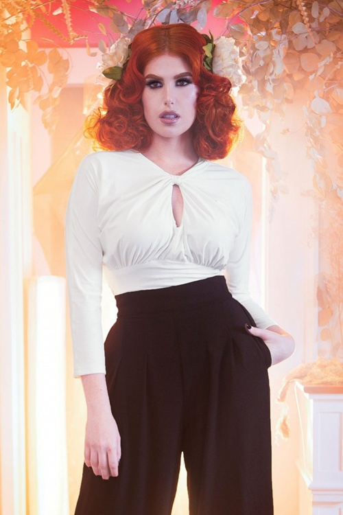 Pinup Couture California White Malia Top 113 50 17839 20160215 0011