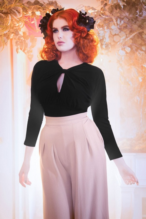 Pinup Couture California Black Malia Top 113 10 17837 20160215 0009