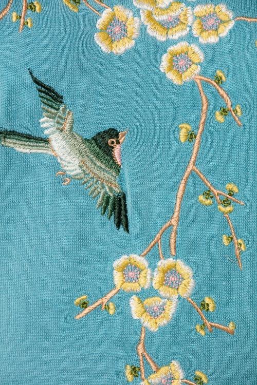 50 Best Swedish Decorating Ideas: 50s Samarinde Top In Swedish Blue