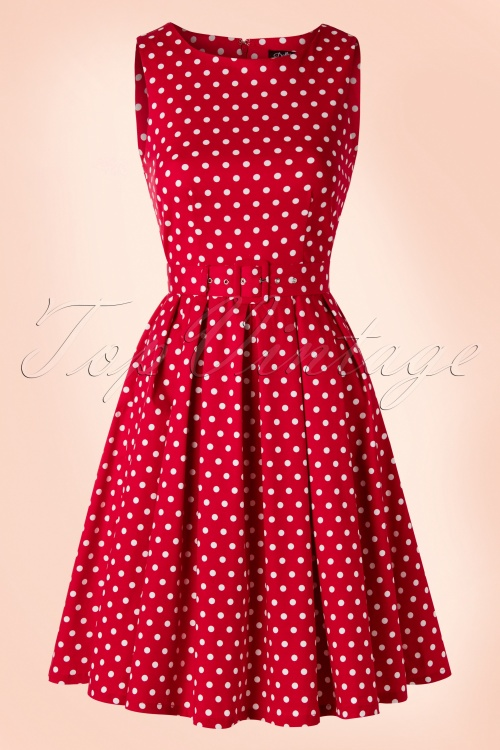 a2e37df78 Dolly and Dotty Lola Classic Dress in Red 102 27 18322 02172016 006W