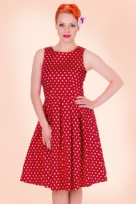 Dolly and Dotty Lola Classic Dress in Red 102 27 18322 1