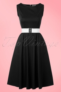 Lady V Black Hepburn Swing Dress 102 31 17776 20160219 0010W