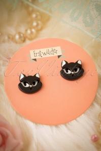 TopVintage Exclusive ~ 60s Carla Cat Earrings