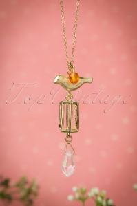 50s Free Birdie Necklace