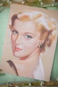 Lovely White Floral Earrings 331 50 18387 03012016 004W