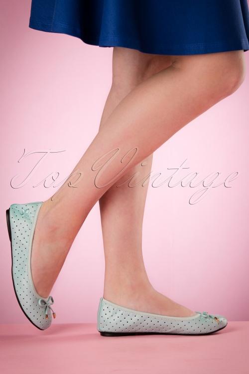 Butterfly Twists Grace in Mint Ballerinas 410 30 16697 03022016 004W