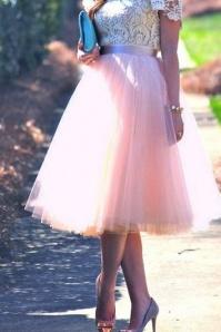 50s Jocelyn Fairytale Skirt in Pink