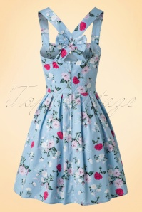 Bunny Belinda Mini Blue Floral Dress 102 39 18226 20160304 0001W