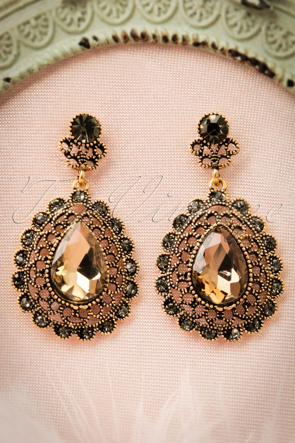 for klein earrings designer product jewelry vintage estate stylish anne women