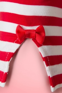 Dancing Days by Banned Sophie Top in Red White Stripes 113 27 17791 20160308 0012W
