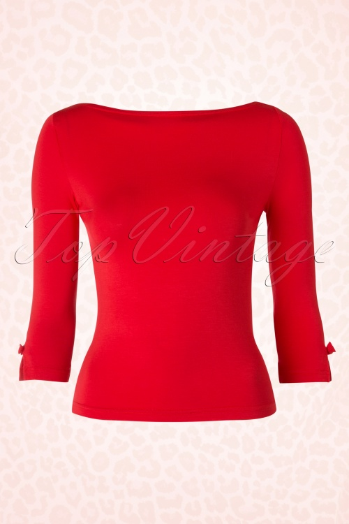 Dancing Days by Banned Sophie Top in Red 113 20 17787 20160308 0004W