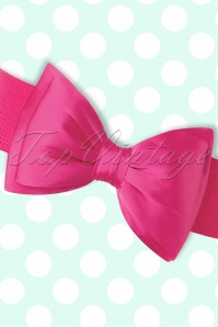 Banned Bow Belt in Pink 230 22 17873 20160308 0004W