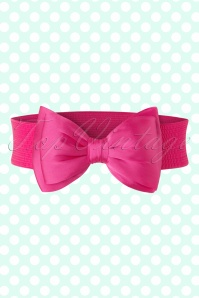 Banned Bow Belt in Pink 230 22 17873 20160308 0003W