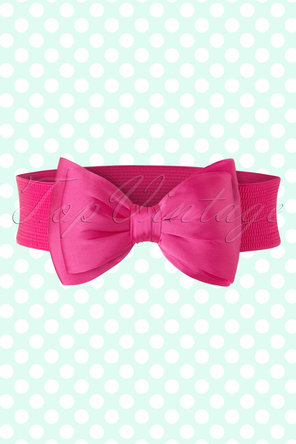 Vintage Wide Belts, Cinch Belts 50s Bella Bow Belt in Pink £8.19 AT vintagedancer.com