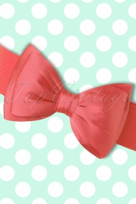 Banned Bow Belt in Coral 230 22 17872 20160308 0004W