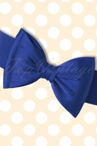 Banned Bow Belt in Royal Blue  230 30 17877 20160308 0008W