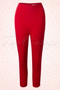 Glamour Bunny Capri Pants Red 131 20 13151 20140417 0006W