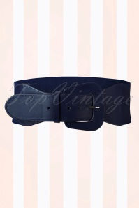 50s Rizzo Belt in Navy