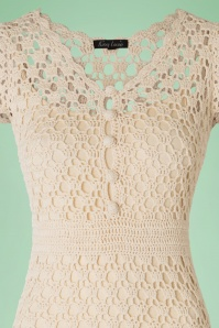 King Louie Crochet Cream Dress 106 51 16647 20160315 0006V