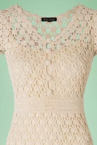 King Louie Crochet Cream Dress 106 51 16647 20160315 0006V
