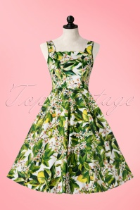 Hearts & Roses  Green Floral Swing Dress 102 59 17147 03182016 002pop