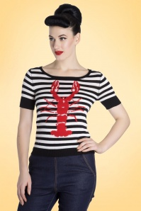Bunny Lobster Top in Black and White 113 14 18286 20160321 1