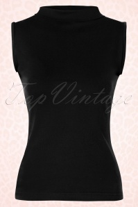 Heart of haute Trixie Black Turtle neck Top 110 10 18169 20160226 0004W